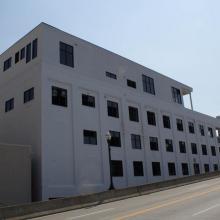 Advantage Technology's Headquarters from Southside Bridge