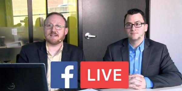 Joe Justice and Brad Williams Facebook Live