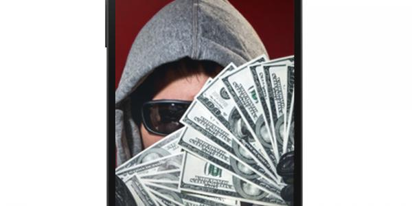 Mobile device ransomware