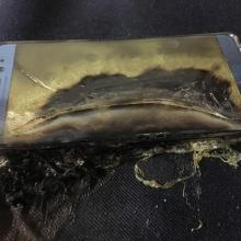 Galaxy Note7 Fire